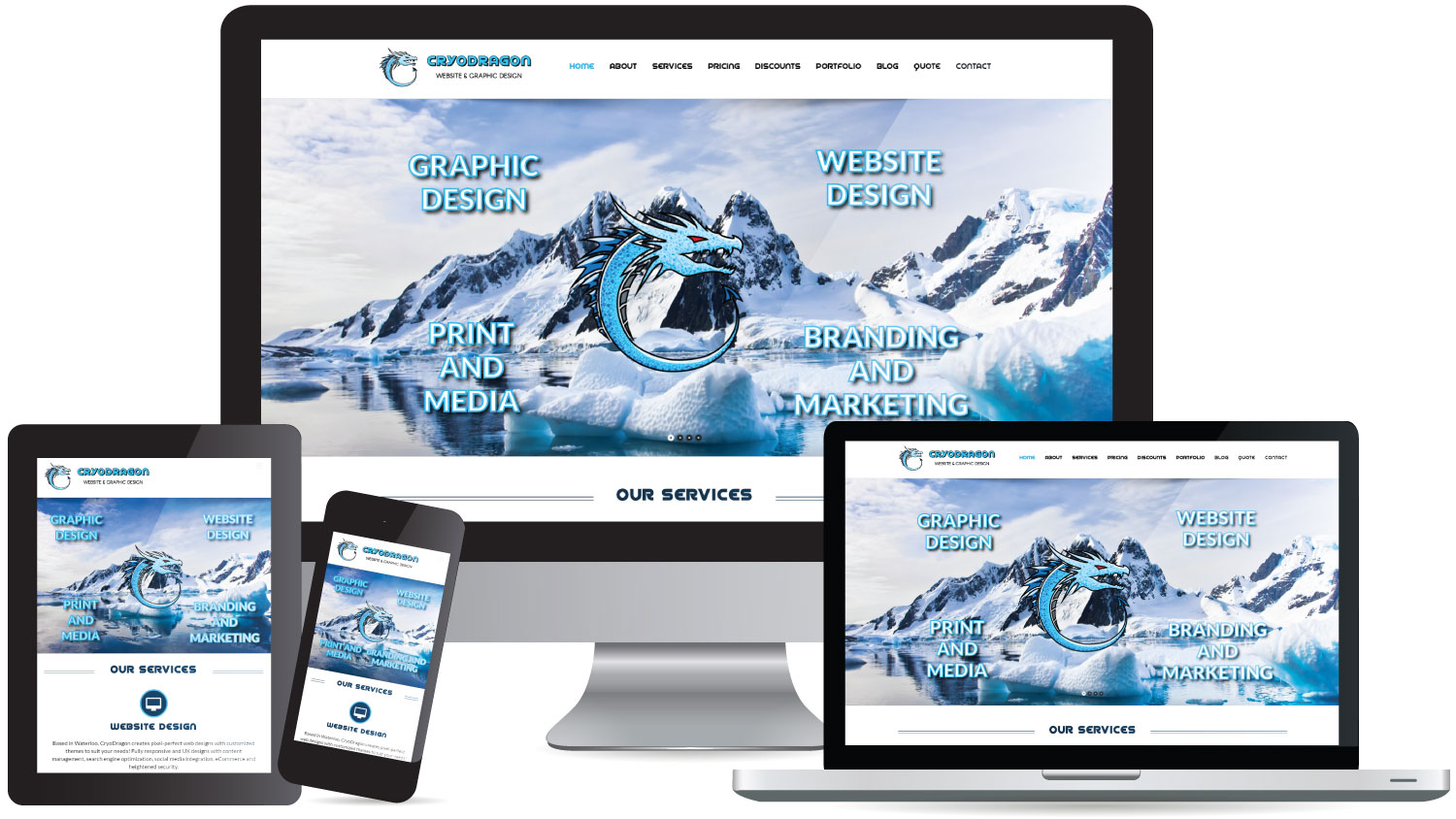Welcome to Our New CryoDragon Website! | News, Web Design ...