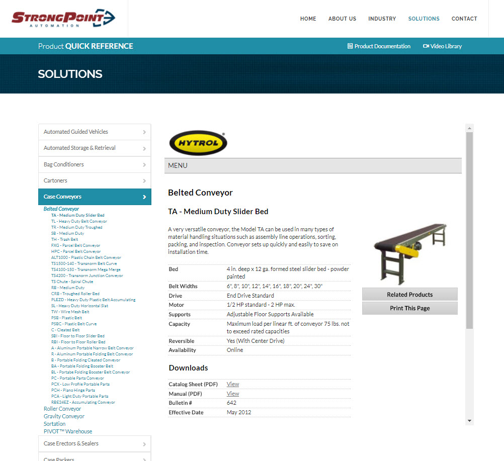 StrongPoint Automation | CryoDragon | Kitchener-Waterloo Website ...