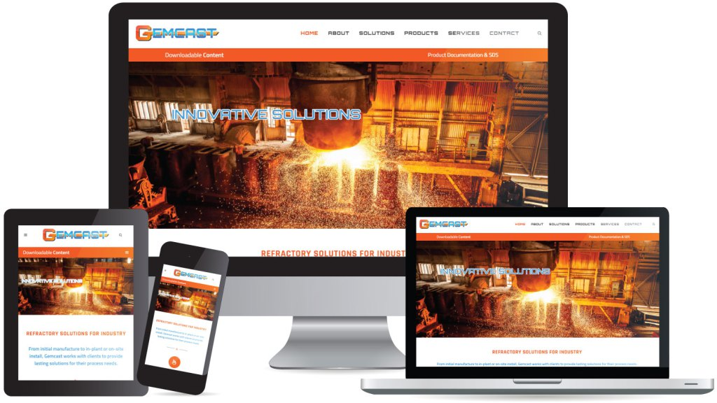 New Site for Gemcast | Web Design | CryoDragon | Kitchener Waterloo ...