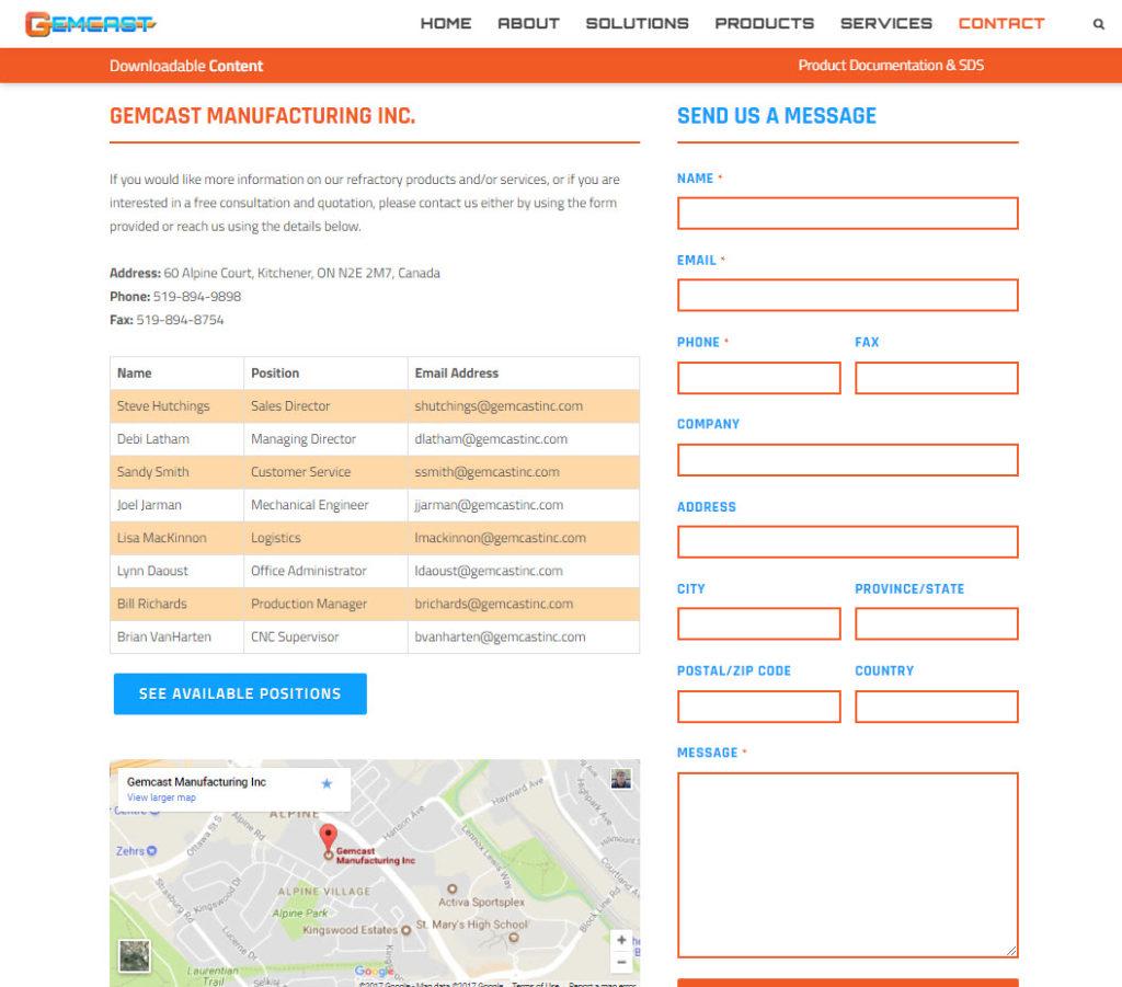 Gemcast Inc. | CryoDragon | Kitchener-Waterloo Website Design and ...